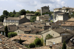 Dorf im ländlichen Frankreich
