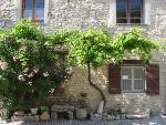 Dorfhaus in der Provence, Frankreich