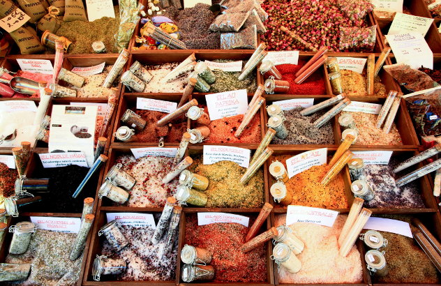 Marokkanische Kräuter