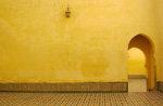 Innenraum in einem Haus in Marokko