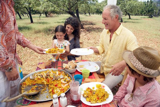 Spanische Familie